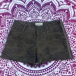 NWOT Lucky Brand Camo Shorts